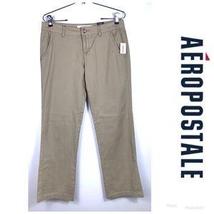NWT AEROPOSTALE Khaki Pants Sz 4S